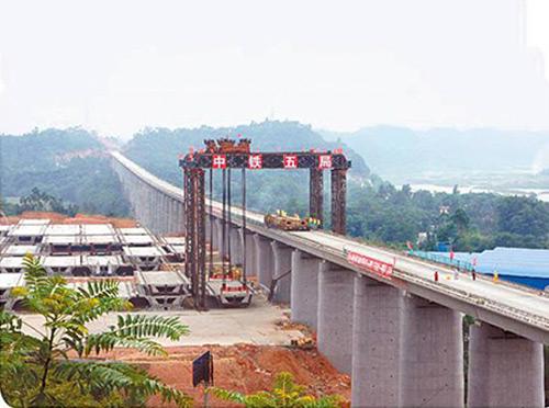 成绵乐城际高铁在建项目
